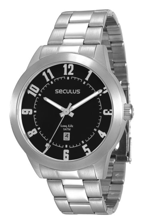 Relógio Seculus Masculino Long Life 28692G0SVNA1