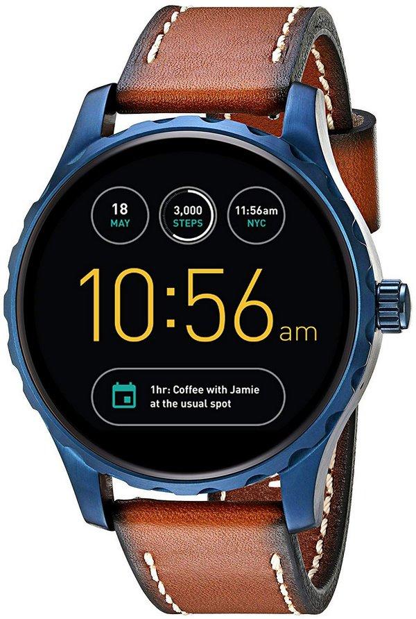 Relógio Smartwatch Fossil Q Marshal Couro FTW2106/0MI