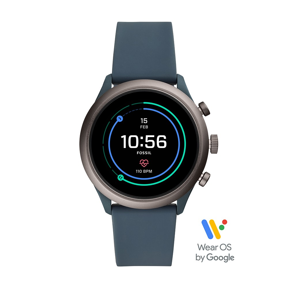 Relógio Smartwatch Fossil Sport Cinza FTW4021/8FI