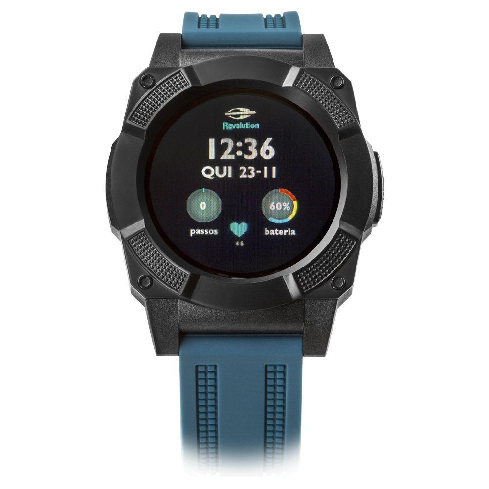 7f5c8a2e03447 Relógio Smartwatch Revolution Mormaii Masculino MOSRAB 8P - Relógios ...