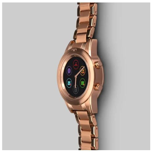 c4f3626913b Relógio Smartwatch Technos Connect Duo Rose Feminino P01AE 4P ...