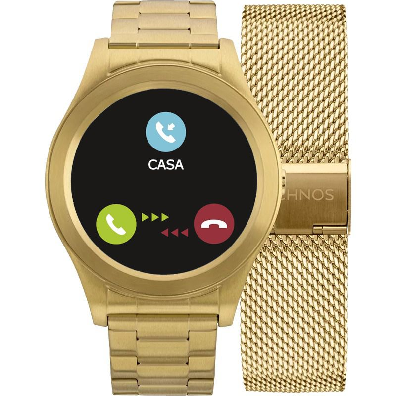 Relógio Smartwatch Technos Connect Unissex SRAE/4P