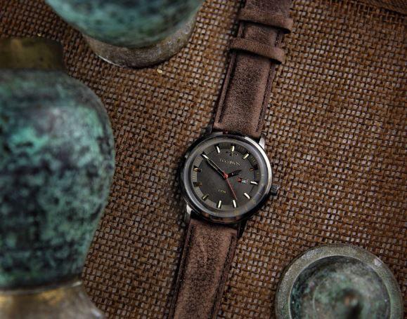Relógio Technos Clasic Golf Couro Masculino 2115LAQ/2C