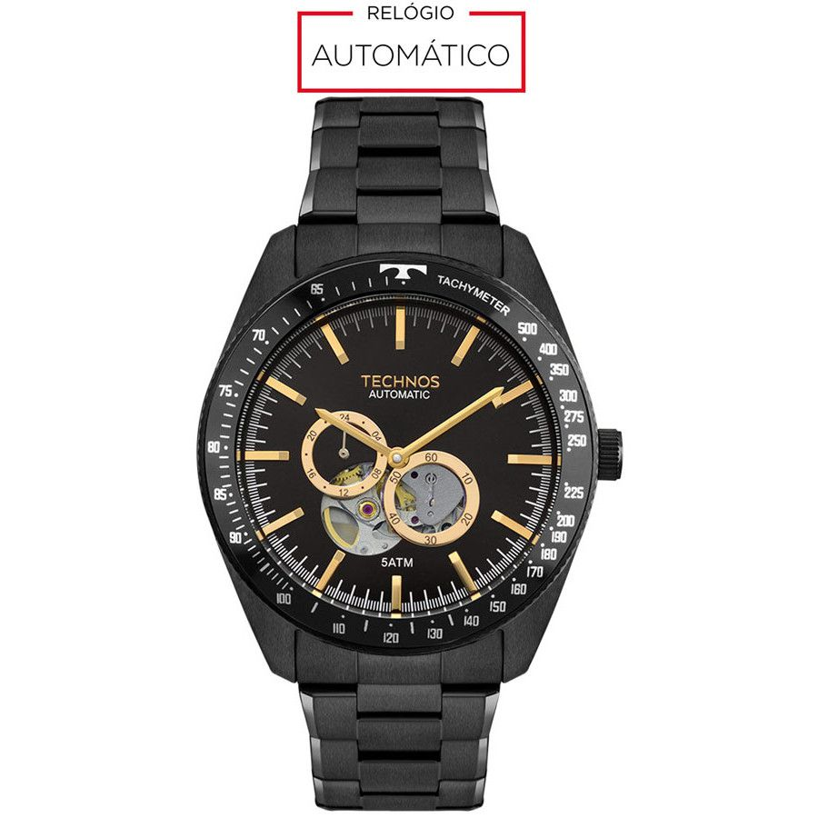 Relógio Technos Classic Automático Masculino 82S7AC/4P