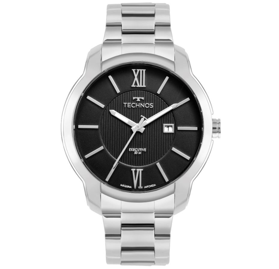 Relógio Technos Classic Executive Masculino 2115MWZ/1P