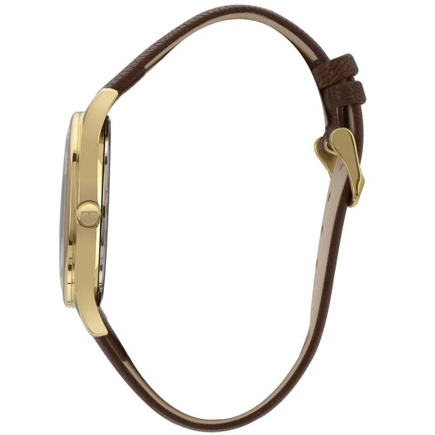 Relógio Technos Classic Steel Couro Masculino 2035MQR/2A