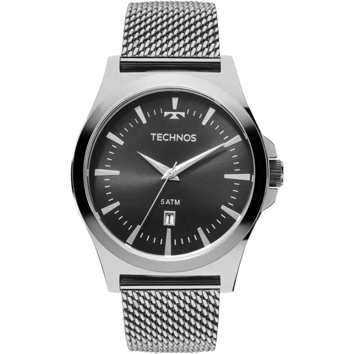 Relógio Technos Classic Steel Masculino 2115LAL/0P