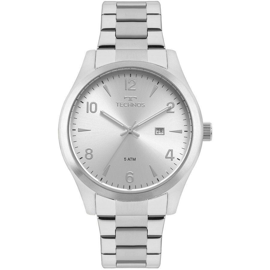Relógio Technos Classic Steel Masculino 2115MRB/1K