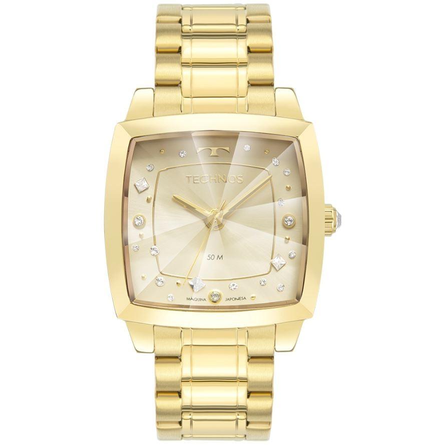 Relógio Feminino Technos Crystal Swarovski 2036MNG/1X