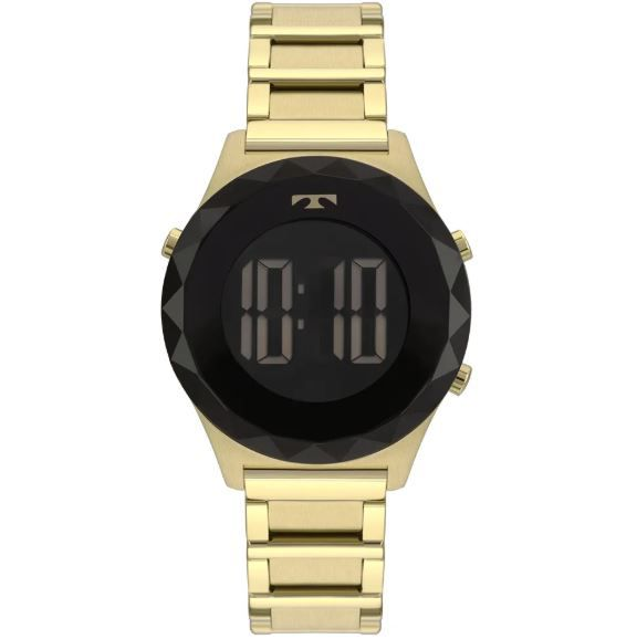 Relógio Technos Crystal Dourado Feminino BJ3851AB/4P
