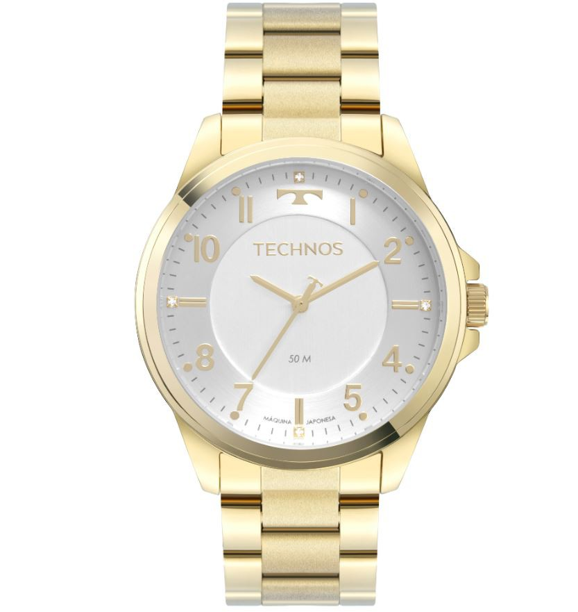 Relógio Technos Dourado Feminino 2035MSX/1K