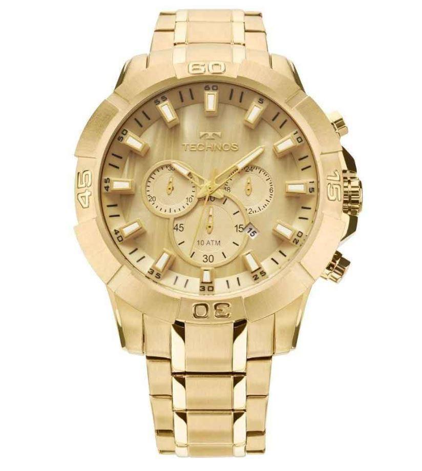 Relógio Technos Dourado Masculino JS26AE/4X