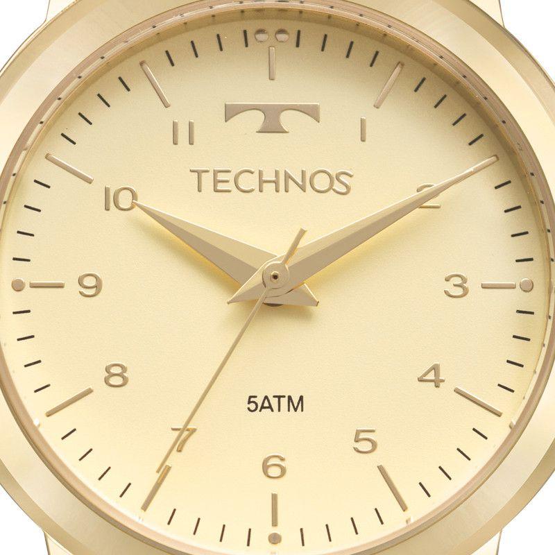 Relógio Technos  Elegance Boutique Couro Feminino 2035MOW/2X