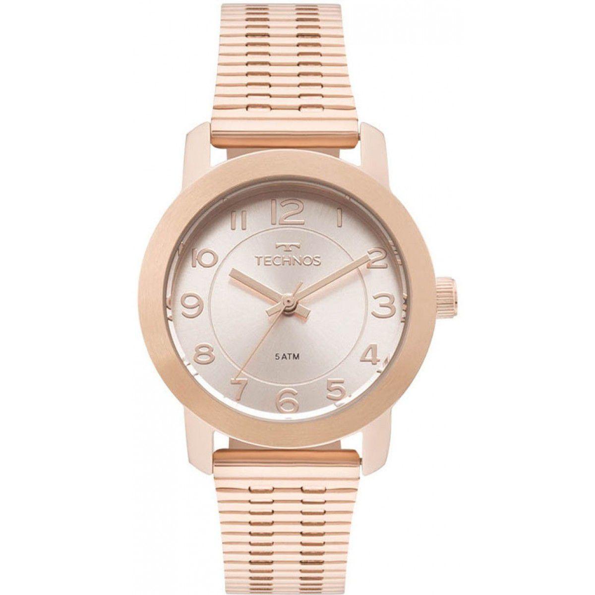 Relógio Technos Elegance Boutique Rose Feminino 2035MLT/4J