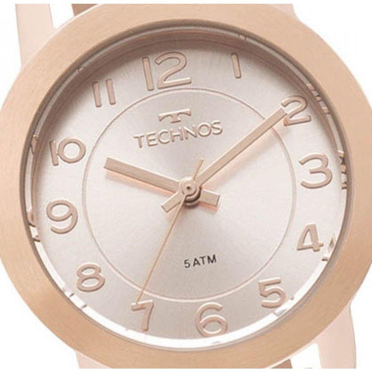 af997103056 ... Relógio Technos Elegance Boutique Rose Feminino 2035MLT 4J ...