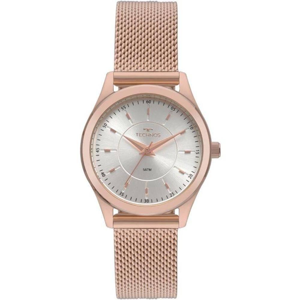 fed0520c78e Relógio Technos Elegance Boutique Rose Feminino 2035MNV 4K ...