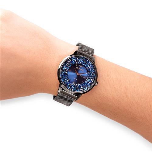 Relógio Technos Elegance Crystal Grafite Feminino 2035MQC/5A