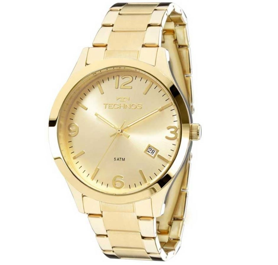 Relógio Technos Elegance Dourado Feminino 2315ACD/4X