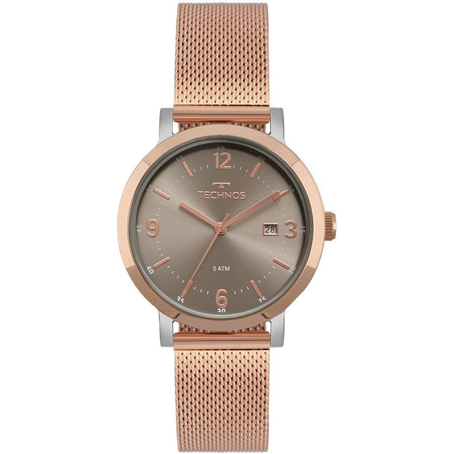 Relógio Technos Elegance Dress Rose Feminino 2115MPF/4C