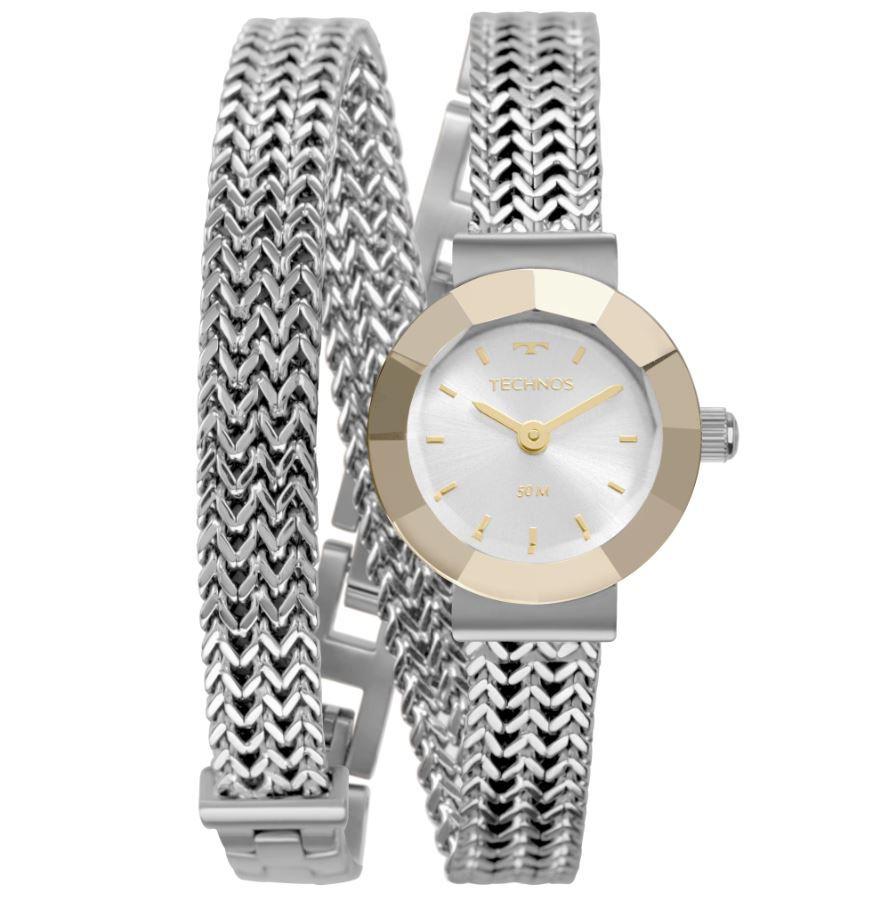 Relógio Feminino Technos Elegance Mini Prata 5Y20IU/1K