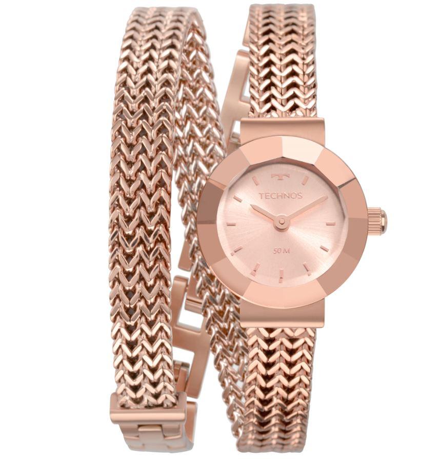 Relógio Feminino Technos Elegance Mini Rose 5Y20IR/4J
