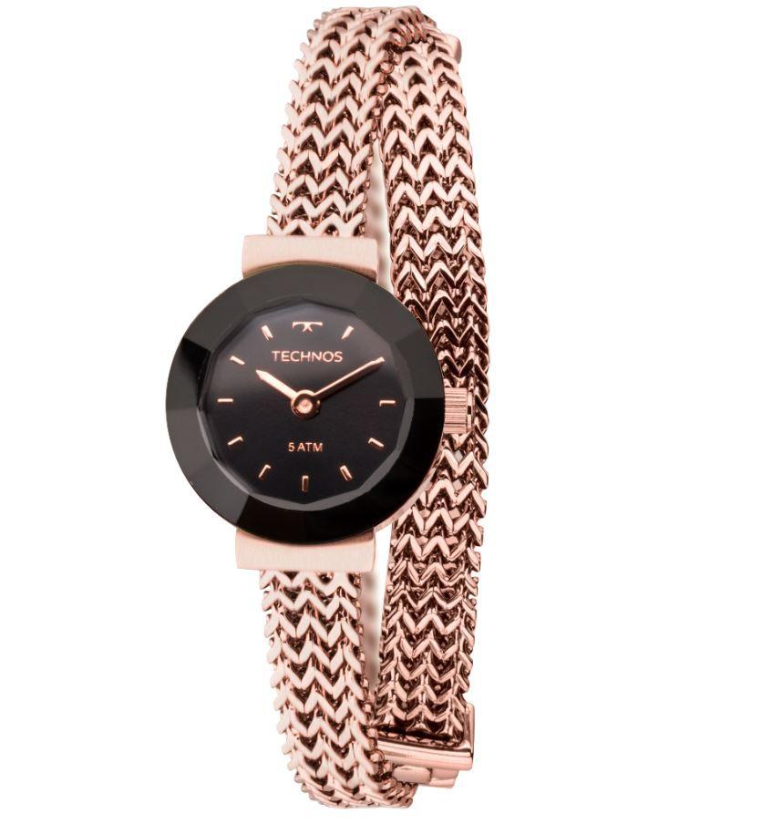 Relógio Technos Elegance Mini Rose Feminino 5Y20IR/4P