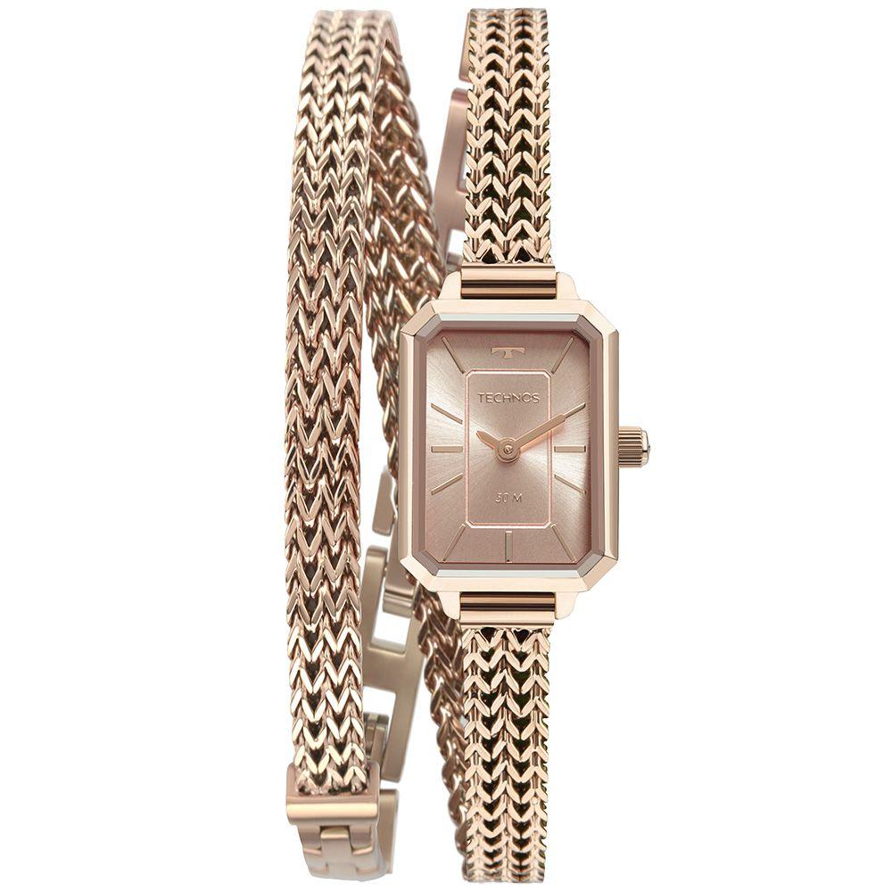 Relógio Technos Elegance Mini Rose Feminino 5Y20IW/1T
