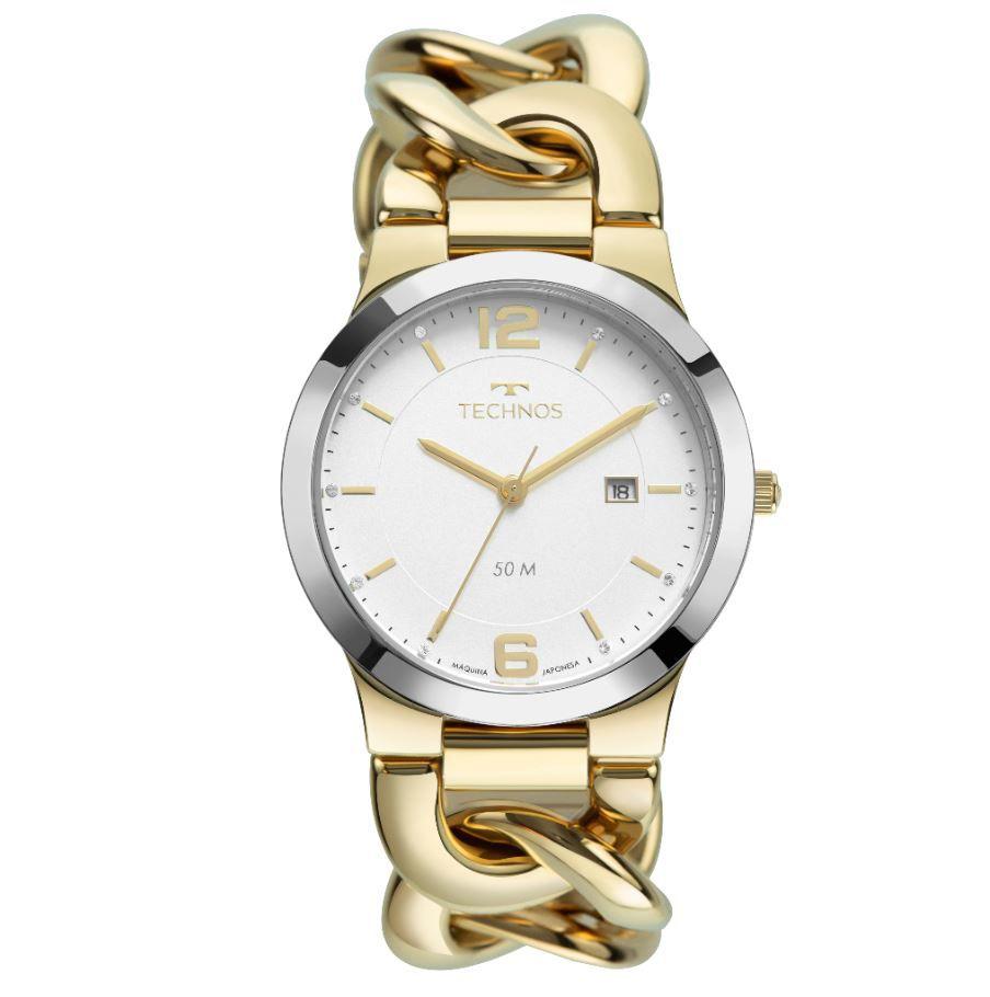 Relógio Technos Elos Dourado Feminino 2115MWF/1K