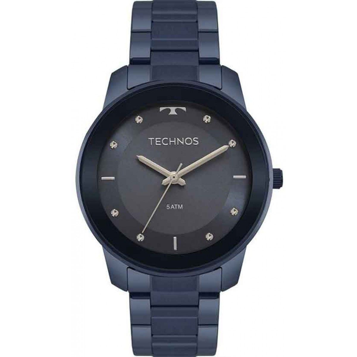 Relógio Technos Fashion Trend Azul Feminino 2036MKE/4A