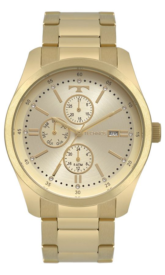 Relógio Technos Fashion Trend Multifunção Feminino 6P89HY/4X
