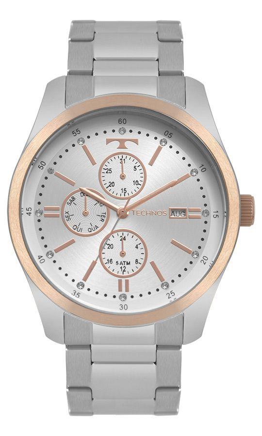 Relógio Technos Fashion Trend Multifunção Feminino 6P89HZ/5K