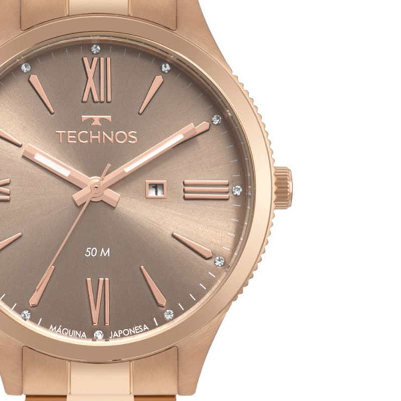 Relógio Technos Fashion Trend Rose Feminino 2015CCR/4M