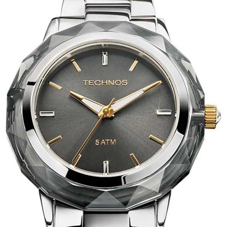 Relógio Technos Elegance Crystal Swarovski Feminino 2035MCL/1C