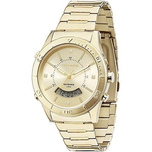 a843fd47608 Relógio Technos Feminino Elegance Skydiver T205FS 4X - Relógios de ...