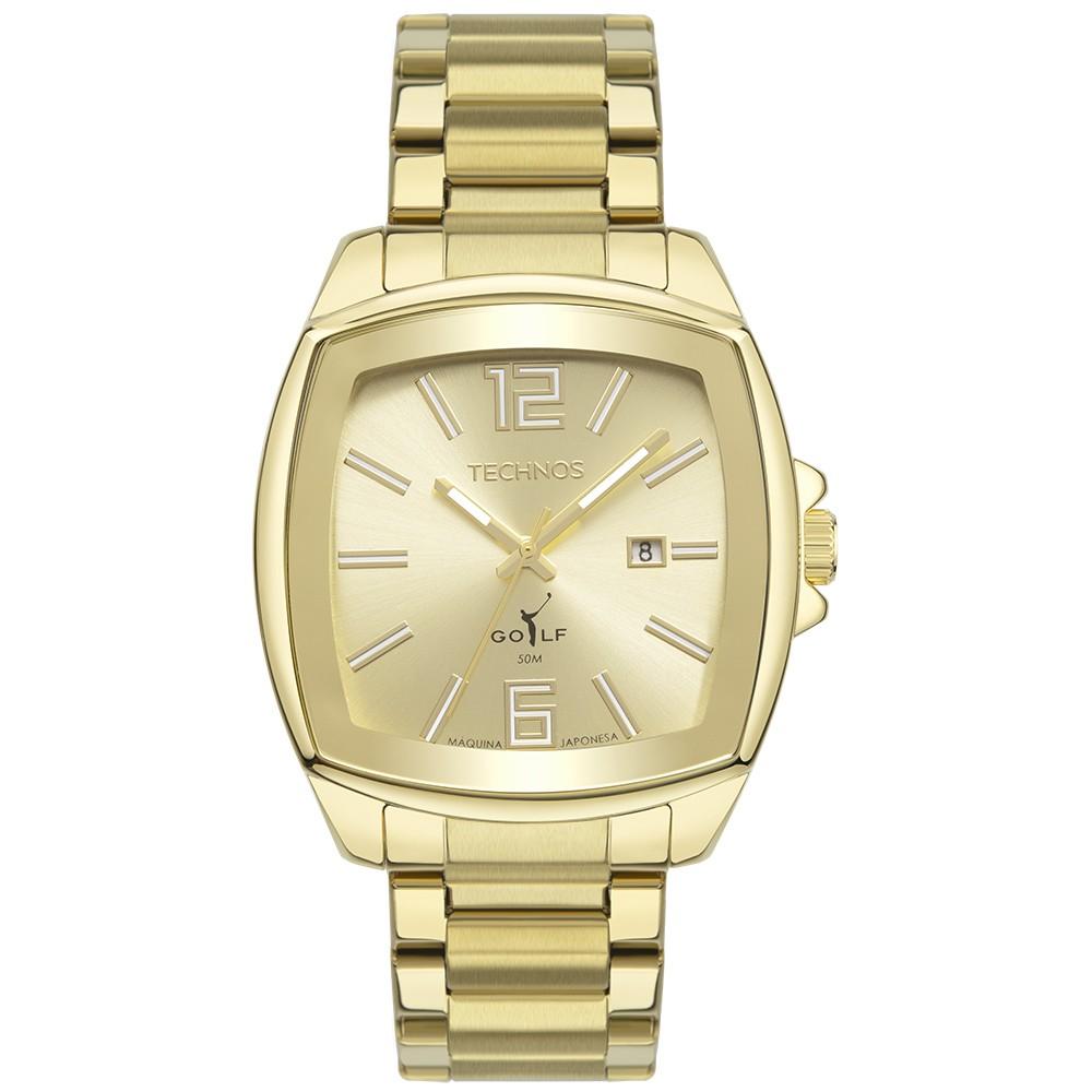 Relógio Technos Golf Dourado Masculino 2115MWS/1D