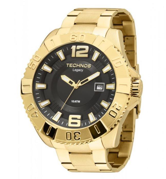 Relógio Masculino Technos Legacy Dourado 2315AAO/4P