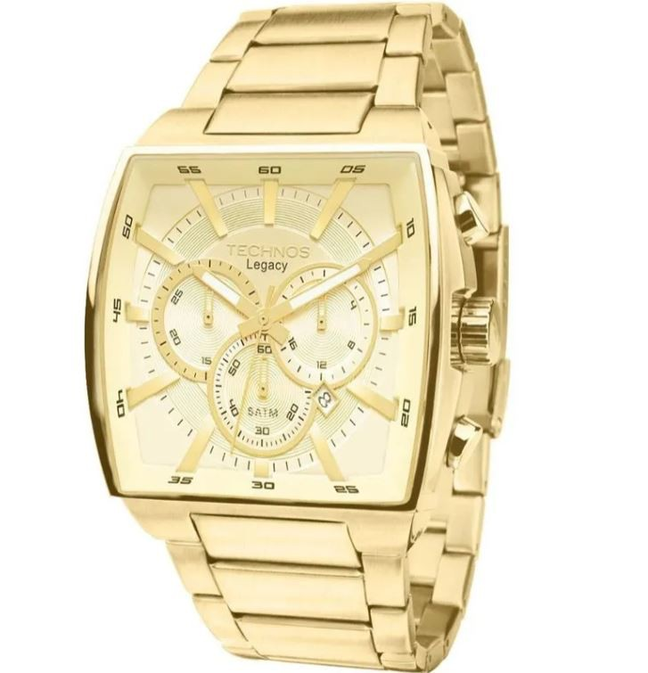 Relógio Technos Legacy Dourado Masculino JS25AL/4X
