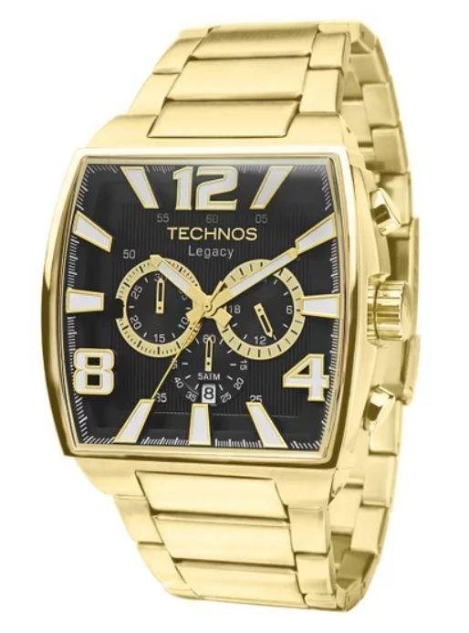 Relógio Technos Legacy Dourado Masculino JS25AR/1D
