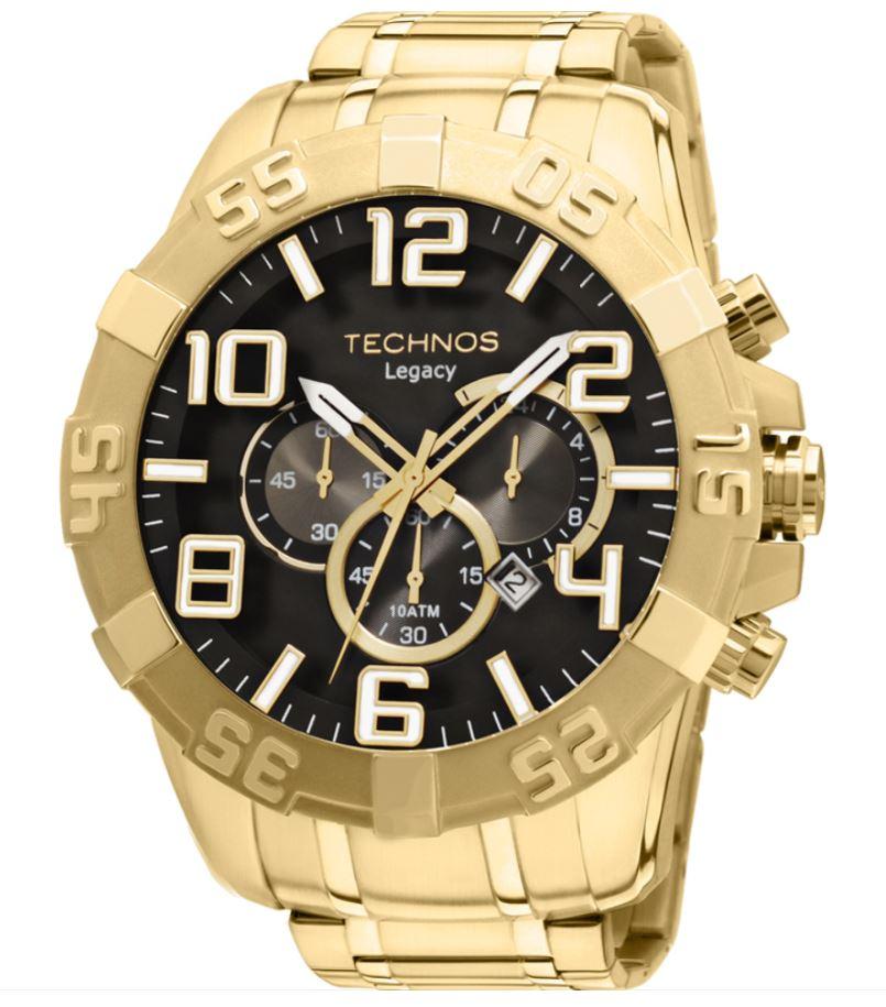 Relógio Technos Legacy Dourado Masculino OS20IM/4P