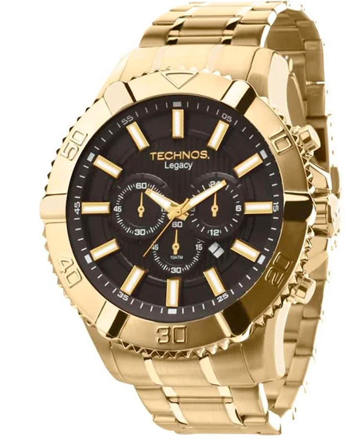 Relógio Technos Legacy Dourado Masculino OS20IS/4P