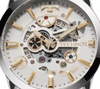 Relógio Technos Masculino Automático 8205NR/1K