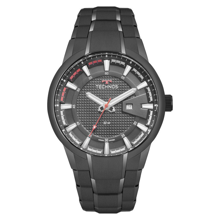 Relógio Masculino Technos Performance Racer Preto 2117LAW/4P