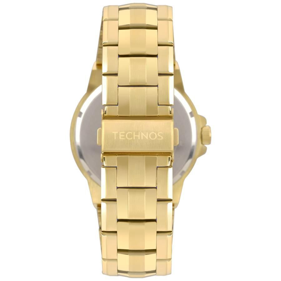 Relógio Technos Racer Dourado Masculino 2117LBE/4P