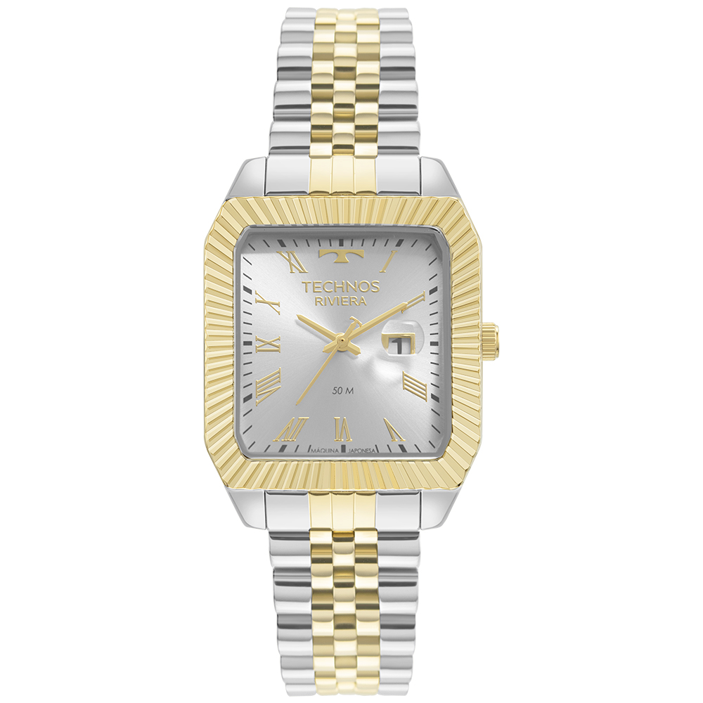 Relógio Technos Riviera BiColor 2015CEF/1K