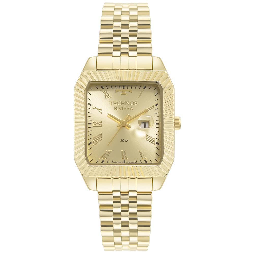 Relógio Technos Riviera Dourado 2015CEE/1D