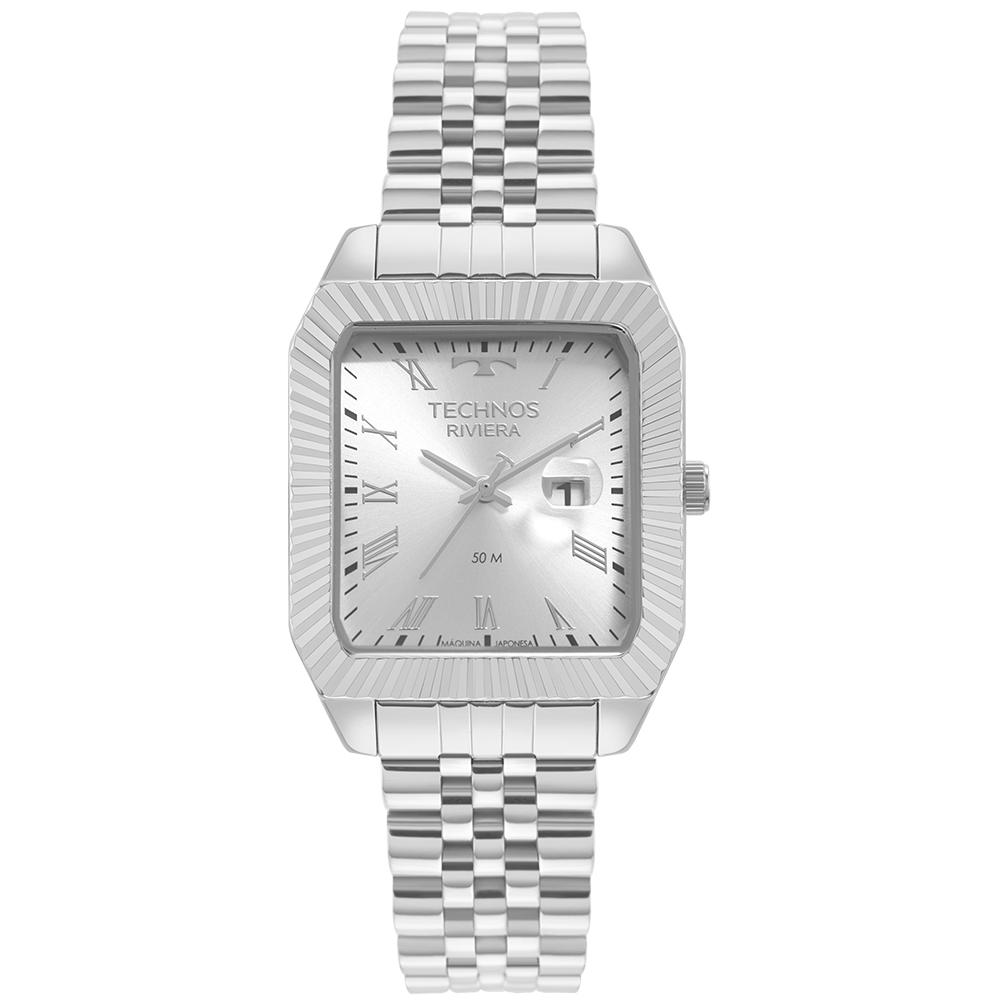Relógio Technos Riviera Prata 2015CED/1K