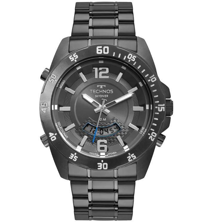 Relógio Technos Skydiver Grafite Masculino T205JM/4C