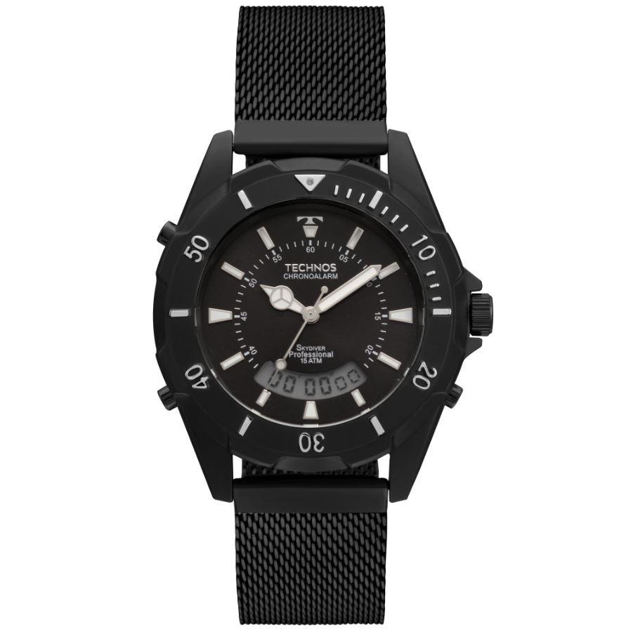Relógio Technos Skydiver Preto T205JG/4P