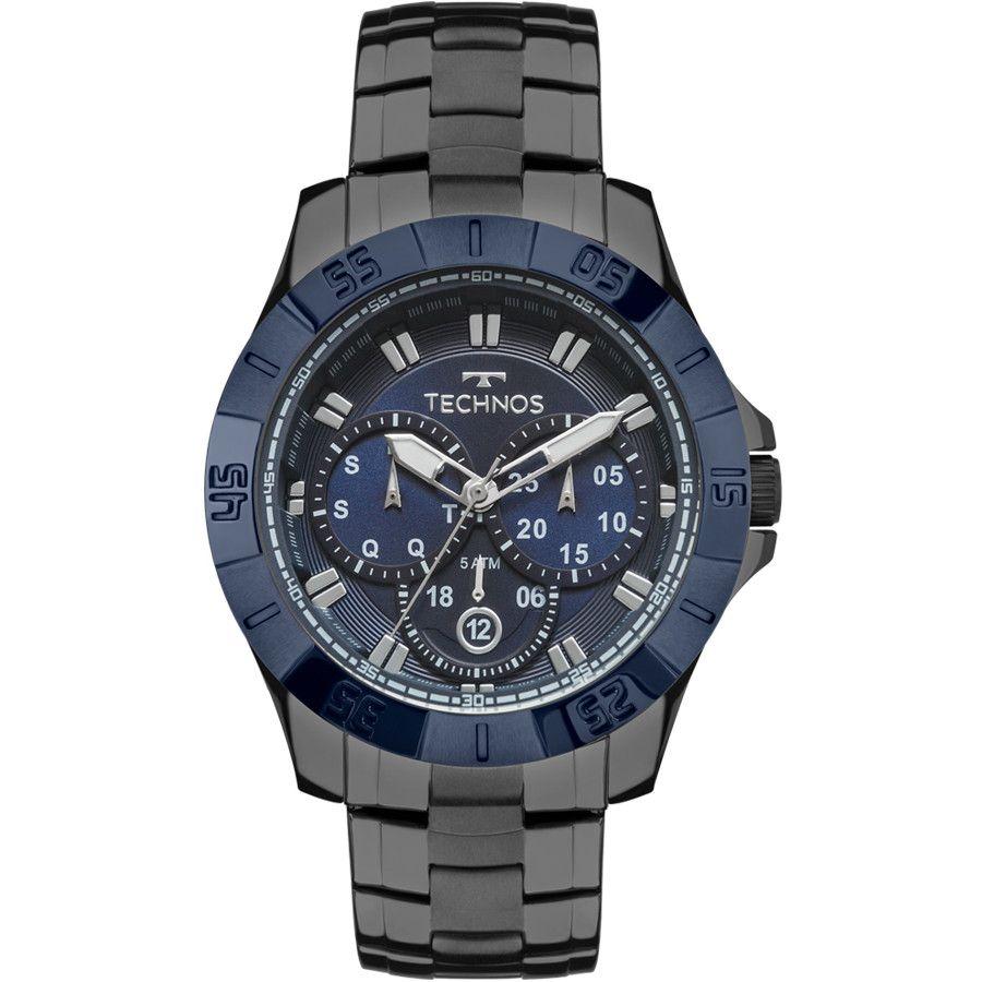 Relógio Technos Skymaster Masculino Multi Função 6P79BE/4C