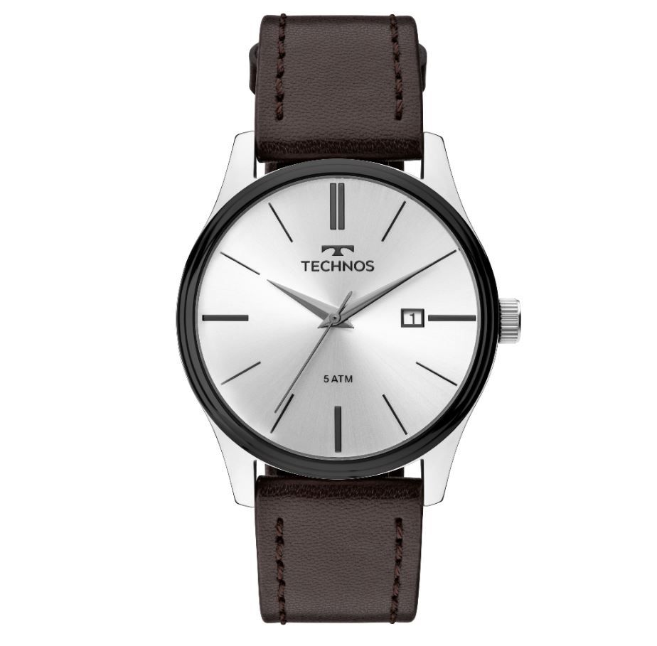 Relógio Technos Steel Masculino 2115MPP/1K